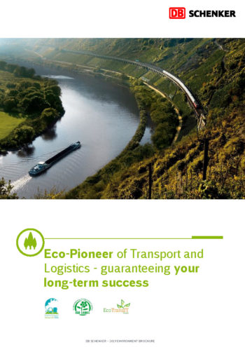 DB Schenker environmental brochure