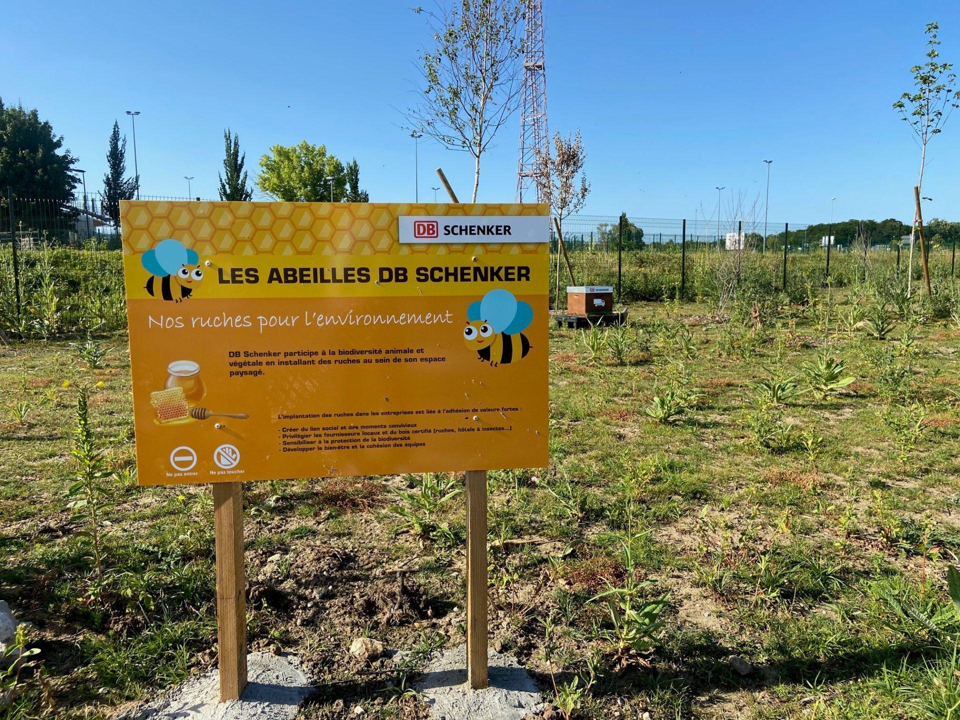 Schenker France installe des ruches autour de ses agences