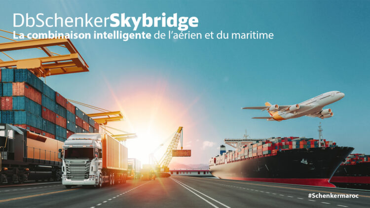 dbschenkerskybridge, la combinaison entre transport aérien et maritime